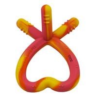Baby molaire bâton de qualité alimentaire Safe Silicone Teams jouet pour les dents longues pour enfants 0-2 ans bébés