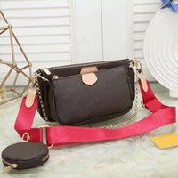 Pink sugao women shoulder bag Classic style with the letter print 3 pcs set 2020 new fashion hot cmfort bag