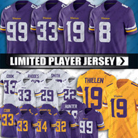 Cousins ​​Dalvin Cook Adam Thielen Kirk Jersey Minnesota