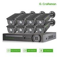 XMEYE 5MP 8CH نظام الأمن مجموعات سوني اكتشاف الوجه poe IP كاميرا 335 الصوت للماء CCTV مراقبة الفيديو مسجل NVR