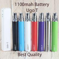 Ugo T Vape Pen Battery Batterie ricaricabili 510 filettatura VAPES Pens Oil Cartucce 1000 mAh 900mAh Box Packaging Ugo-Batterys Instock