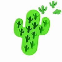 Kaktus-Silikon-Form-DIY Kuchen Schokoladen-Formen 3D Food Grade Qualitäts-Silikon-Form-Backen-Handgemachte Werkzeuge HHA1516