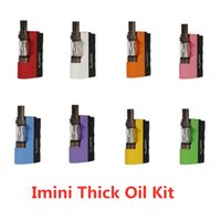 NEW 100% authentische Imini dickes Öl Kit Built-in 500mAh Akku Box Mod 510 Gewinde 0,5 ml 1,0 ml Freiheits-V1 Behälter-Patrone Vaporizer Kits