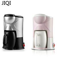 Jiqi Cafeteira Máquina de gotejamento Tipo Máquina Semi-automática Café Americano Espresso Café Cappuccino Latte Maker 220 V 300W