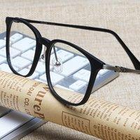 KATELUO 2020 Unisex-Computerschutzbrillen Anti Blaulicht Strahlung abschirmende Brille Lese Transparent Gläser Myopie Rahmen