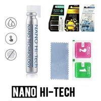 액체 나노 기술 스크린 프로텍터 아이폰 X 7 8 플러스 삼성 S9 플러스 아이 패드 에어 3D 곡선 전체 커버 강화 유리