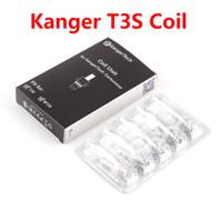 Autentyczne KangerTech MT3 T3S Jednostka cewki Kanger CC Clear Caromizer Atomizer Wymiana Wymienniki Głowica 1.5 1.8 2.2 2.5 Ohm DHL