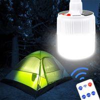 100W lanterna di campeggio solare del LED luce di campeggio mini lanterna portatile della tenda della lampada Luce di emergenza ricaricabile DC / solare