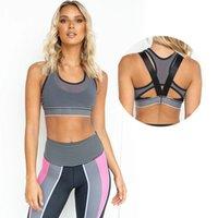 2020 Seamless Workout Sports Bra Top Women High Waist Leggings Set Yoga Pants Sexy Fitness Yoga Set Women Sportwear Fitness Suit
