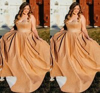 Bling Bling Sequined Plus size Evening Prom Dresses Sweetheart Empire A line Long Cheap Bridesmaid Special Occasion Dresses New