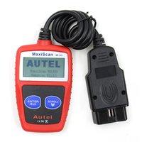 MS309 CAN BUS OBD2 Scanner Car Código de Falha Leitor Car Fault Motor diagnóstico Reset Tool Acessórios