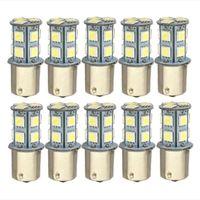 Parlak S25 13 SMD P21W 1156 1157 LED Işık Araç Aksesuarları Fren Ters Dönüş Sinyal Lambaları 12V Ampul Bölüm Beyaz Kırmızı Sarı