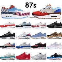 جديد 87s رجل الاحذية بارا الذكرى الذكرى أكوا الملكي متعدد الألوان الأبيض الأسود مركز اليوم البطيخ العبث الرياضة الأحمر الرجال النساء أحذية رياضية