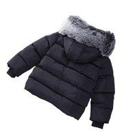 Winter der neuen Kinder verdicken Mantel-Baby-Kleidung Jungen und Mädchen verdicken warme Baumwollkleidung Jacken Dropshipping Großhandels