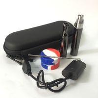 Wape Pen Starter Kit с корпусом на молнии с двойным кварцевым катушкой Wax сухая трава курить глубокая керамическая чаша керамический пончик сковороды распылитель