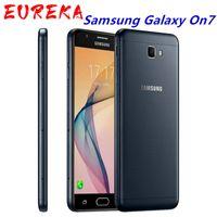 الأصلي تم تجديده Samsung Galaxy On7 G6000 الهاتف المحمول 8GB ROM 1.5 RAM رباعية النواة بطاقة SIM SAMSUNG GALAXY على 7 هاتف
