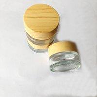 5g Vapes Glass Container Dab Wax Oil Jars 5ml Concentre Box antiaderente Food Grade para E Cigs cigarro vaporizador Cera de armazenamento Cosmetic