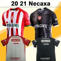 2020 Meksika Club Necaxa Futbol Formalar Gonzale LIGA MX Ev Beyaz Deplasman Siyah Gri Futbol Gömlek Kısa Kollu Camisetas de fútbol Üniformalar