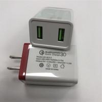 Caricabatterie da parete all'ingrosso 5 V 2a Plug US 2USB 2USB Travel Home Caricabatterie Adattatore Adattatore universale AC Adattatore di alimentazione per Smart Phone