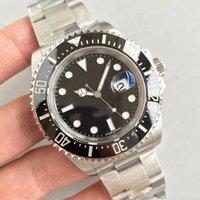 2020 Nuevo reloj de pulsera de lujo Basel Rojo Sea-Deler Acero inoxidable 43mm Watch 126600 Mens Reloj automático Llegada envío gratis