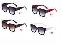 dames de la marque d'été grande femme mode vélo lunettes classique sport en plein air Lunettes de soleil Lunettes GIRL Sun Beach verre 4colors Livraison gratuite
