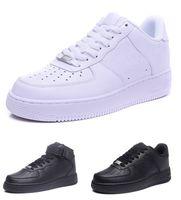 2020 Klasik Yüksek Kalite Bir 1 Dunk Erkekler Kadınlar Flyline Koşu Ayakkabıları Olanlar Düşük Kesim Tüm Beyaz Siyah Kırmızı Açık Eğitmenler Sneakers Boyutu 5.5-12