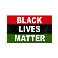 90 * 150CM الاحتجاج الأسود حياة المسألة راية العلم BLM سلام الأسود لايف المسألة في الهواء الطلق في الأماكن المغلقة راية LJJK2464