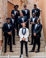 2021 Mens Hochzeit Smoking Business Anzug Jacke Hosen Krawatte Hübsche Herrenanzüge Frühling Heißer Verkauf Hochzeitsanzüge Bräutigam Benutzerdefiniert