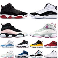 nike air jordan retro 6 6s ring stock x 6 6s Anéis  do Ar Jumpman 6s Shoes Mens Womens Basketball 6 Anel Jam Atletismo homens Retro treinadores desportivos Sneakers Tamanho