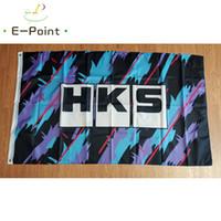 HKS Flag 3 * 5 pi (90cm * 150cm) Polyester drapeau décoration bannière de vol jardin maison drapeau cadeaux de fête