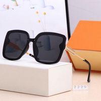 2021 العلامة التجارية مصمم نظارات شمسية أعلى جودة الذكور والإناث الاستقطاب إطار كبير مربع الأزياء في الهواء الطلق نظارات مناسبة لمراكز التسوق، السفر، الشواطئ