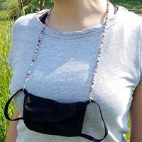 Ansiktsmask Extension Glasses Masker Lanyard Handy Bekväm Säkerhetsmask Rest Öronhållare Rope Häng på nacksträng för maskering av motlastningsremmar