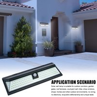 118 Luces solares LED Sensor de movimiento inalámbrico al aire libre Patio de Pared de Pared Pathway Lámpara Lámpara de pared Lámpara de pared