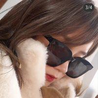 2020 Yepyeni Kadınlar Yıldız Güneş Klasik Nazik Canavar Kare Kare Güneş Moda Erkekler Lüks GM Güneş Dreamer 17 MX200527 gözlük
