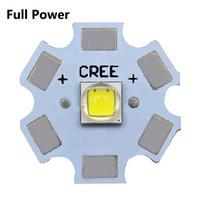 10W xml2 T6 luces LED completa de alimentación de 3V 3535 5050 1-3W 5-6W 10W 18W para el LED lámpara de la linterna cuenta blanca 6500K 10000K con las luces de la base de la viruta