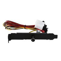 Dizüstü Soğutma Pedleri PPPY -3 Kanallar PC Soğutucu Fan Hız Kontrol CPU Durumda HDD VGA PCI Sıcaklık Kontrol Yönetmeliği için 12 V