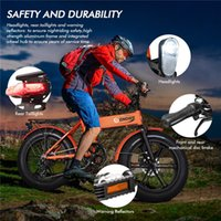 미국 주식 전기 자전거 48V 500w 접는 전기 자전거 지방 타이어 전자 자전거 산악 자전거 오프로드 고속 전기 스쿠터 W41215023
