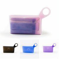 Mode silicone Masques visage Case Mini Masque Conteneur Sac de rangement portable poussière multicouleur humidité sceller Livraison gratuite 3 5cm D2