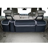 Новый автомобиль Магистральные Организатор Backseat сумка для хранения большой емкости Многофункциональный Оксфорд Назад Аксессуары для интерьера Автомобильные сиденья