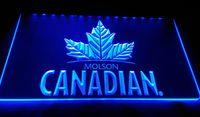 LS994-ز-مولسون الكندية بار البيرة نادي حانة علامات 3D LED ضوء النيون تسجيل ديكور شحن مجاني دروبشيبينغ الجملة 8 الألوان للاختيار