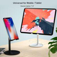 Universale regolabile Desktop porta cellulare per Holder iPhone iPad Tablet Samsung Mobile Phone Desk Stand