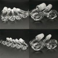 Envío de 2 mm de espesor del club Banger Nueces Domeless Cuarzo de Cuarzo 14mm Hombre Hembra Cuarzo Banger Nails Mini Bowl para bongs de agua de vidrio