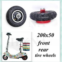 Roues de moto Roue de pneus 200x50 pour Mini scooter électrique Catégorie d'équilibrage 8 pouces 8x2 pneumatique pneumatique pneu avant et arrière