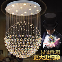 Best quality LED K9 Ball Crystal Chandeliers led Pendant Lig...
