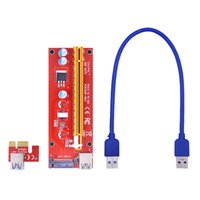 For BTC LTC ETH Mining Miner PCI-E Expansion Card PCIE X1 To X16 Extender 15Pin SATA Power Converter Adapter USB 3.0 Cable