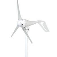 Generatore di turbina verticale verticale permanente a 3 metalli a 3 fasi 400W a 3 fasi 24 V 400W per le luci della casa controller del vento della barca