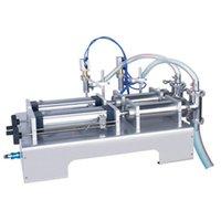 Máquina de enchimento pneumático comestível molho de soja vinagre máquina de enchimento portátil dois cabeça máquina de enchimento líquido vendido a um preço baixo