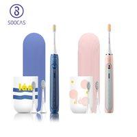 Soocas x5 escova de dentes elétrica recarregável escova de dentes usb automático escova ultra-sônica dentes limpeza para xiaomi mijia