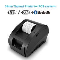 Термопринтер Mini 58mm USB чековый принтер для Resaurant супермаркет магазин Билл проверки машины США Plug ЕС
