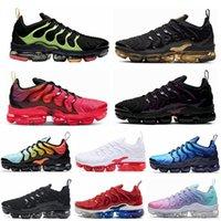 Yeni Oyun Kraliyet TN Artı Erkek Kadın Koşu Ayakkabıları Üçlü Siyah Beyaz Turuncu ABD Mandalina Nane Üzüm Volt Hyper Menekşe Spor Açık Ayakkabı